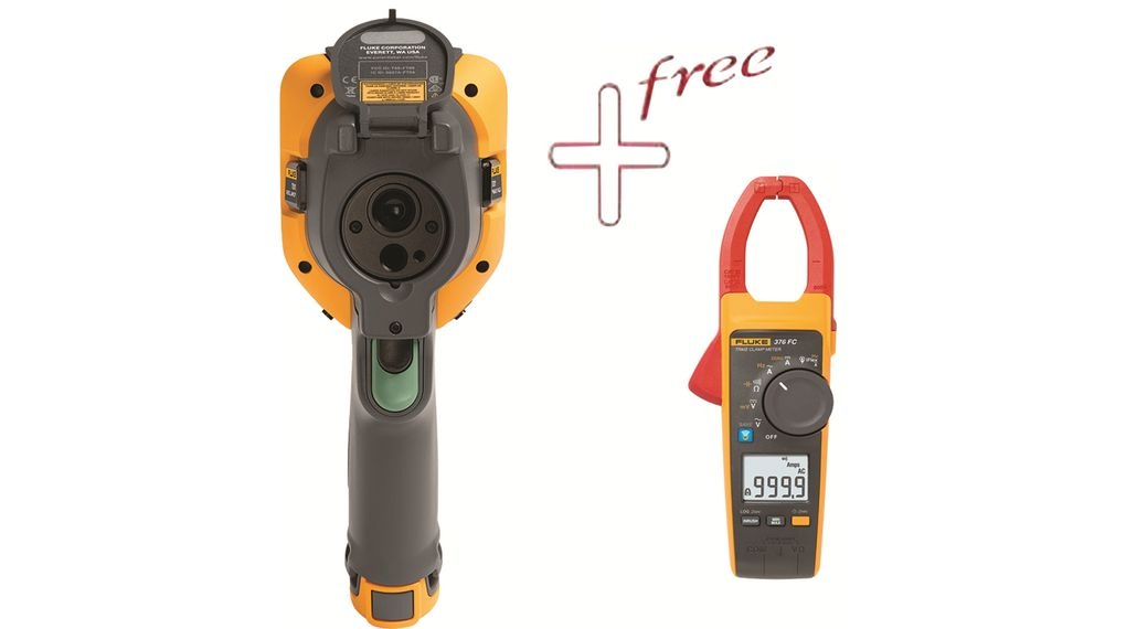 Buy Thermal Imager, -20 ... 550 °C with Free Fluke-376 FC Clamp meter