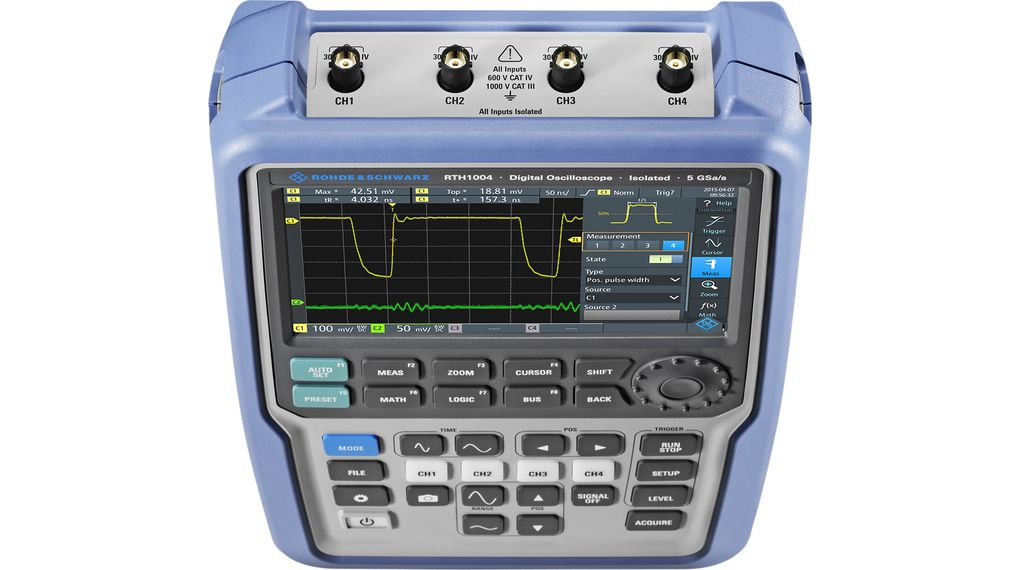 Buy Handheld Oscilloscope R&S<sup>®</sup> Scope Rider  4x500 MHz 5.0 GS/s