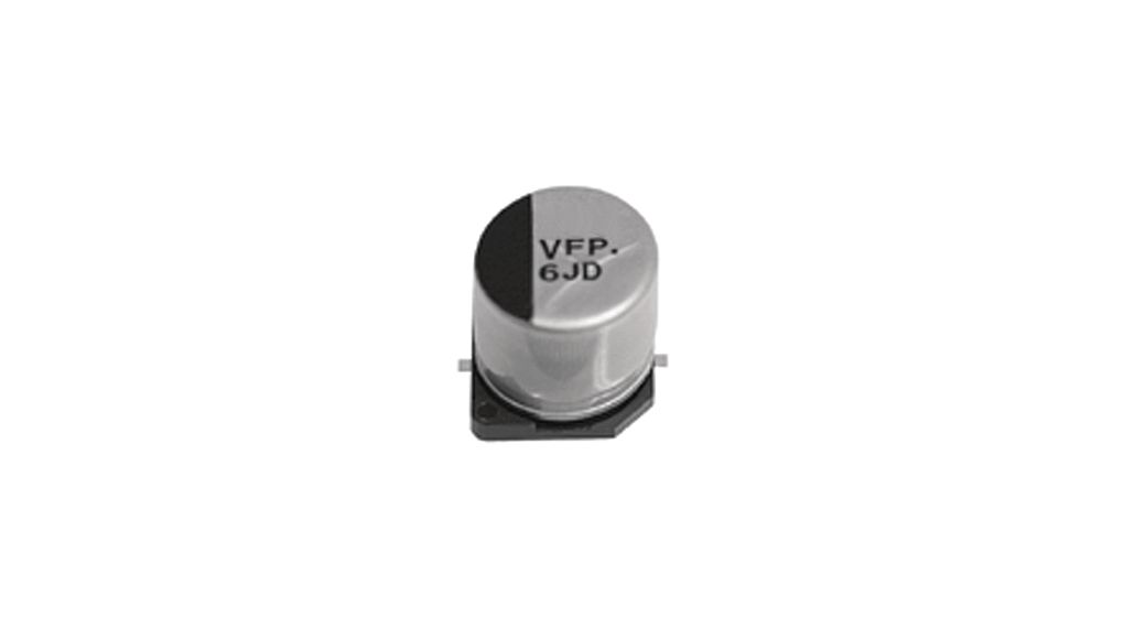 SMD Electrolytic Capacitor 100 uF 25 VDC