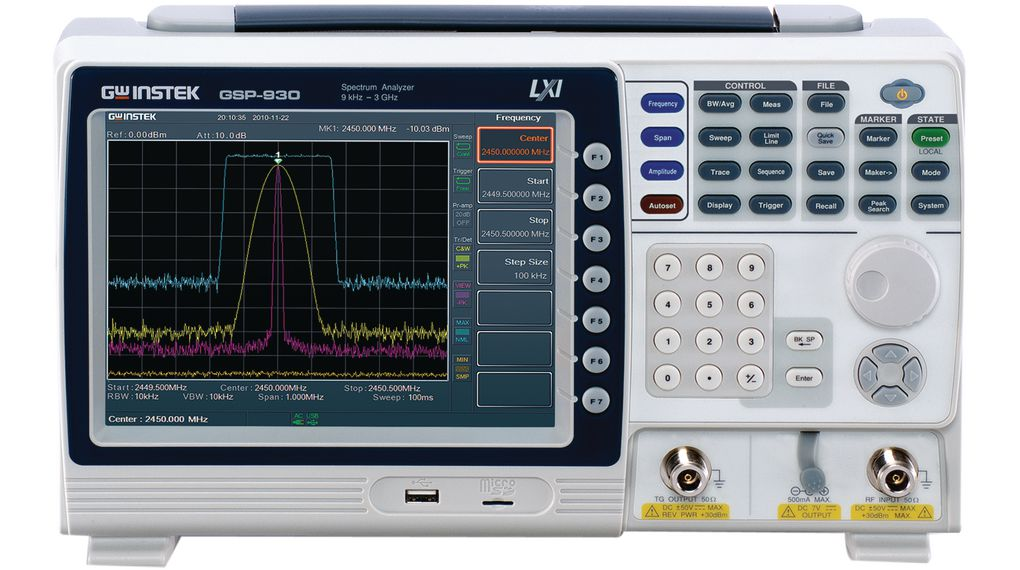 Buy Spectrum Analyser with GPIB-Interface 3 GHz