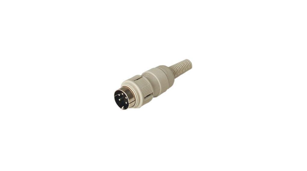 Cable Connector, Plug, 5 Poles, 4A, 34VAC/VDC on