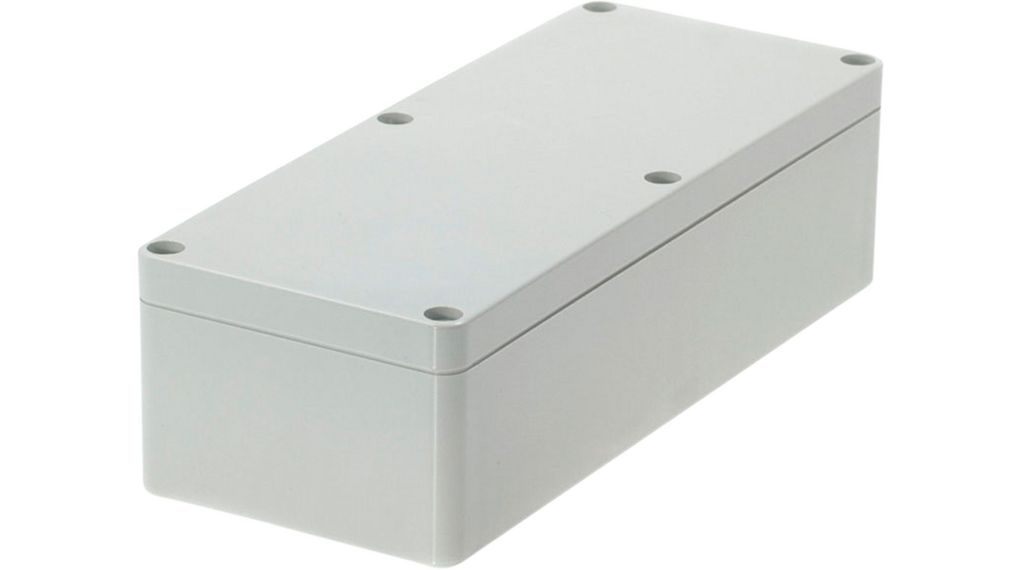 Plastic Enclosure 80x195x55mm Light Grey Polycarbonate IP65