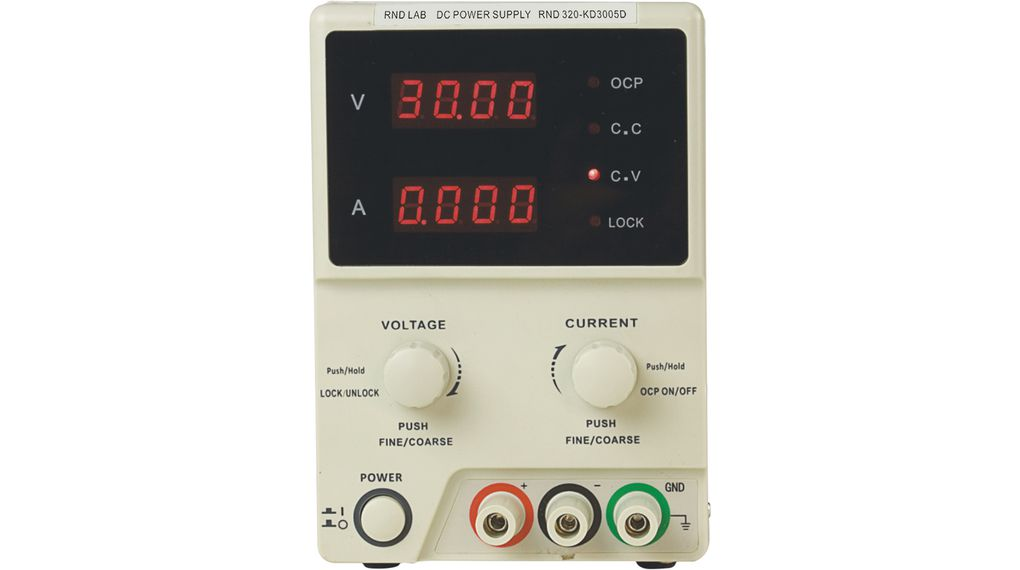 Buy Bench Top Power Supply 0 ... 5 A 0 ... 30 V