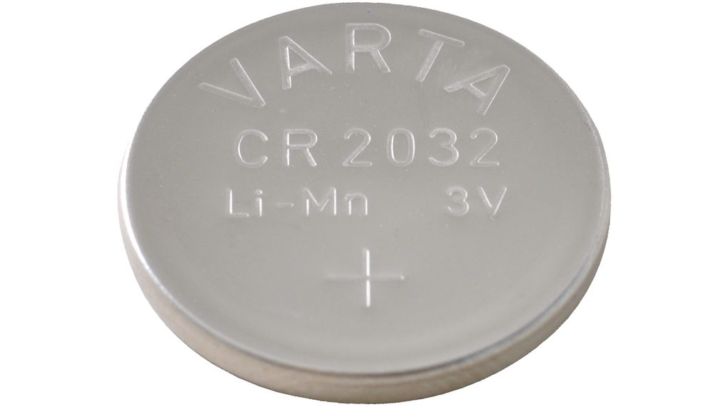 Buy Button Cell Battery, Lithium Manganese Dioxide 3 V 230 mAh