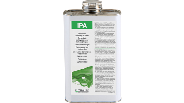eipa01l ipa isopropanol electronic cleaning fluid dose 1000 ml electrolube. Black Bedroom Furniture Sets. Home Design Ideas