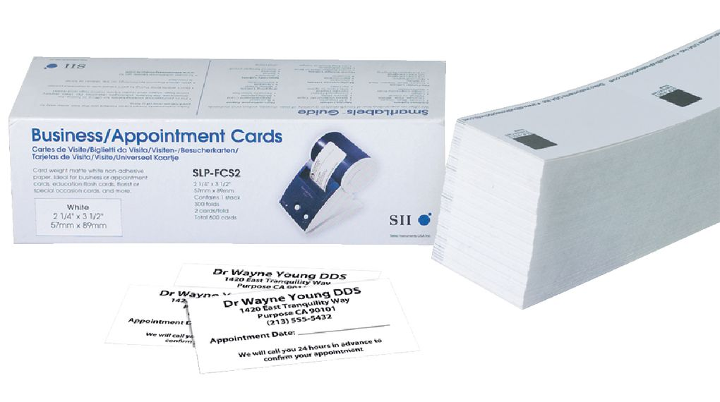 Slpfcs2 Business Cards Appointment Business Card Seiko Instruments