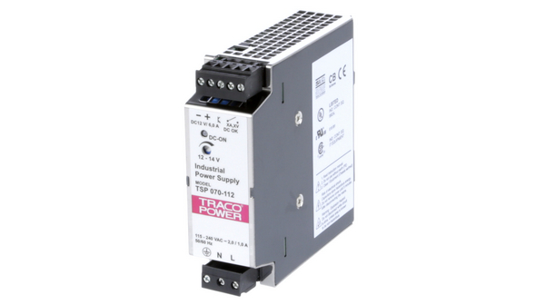 Switched-Mode Power Supply Adjustable 12V 6A 70W