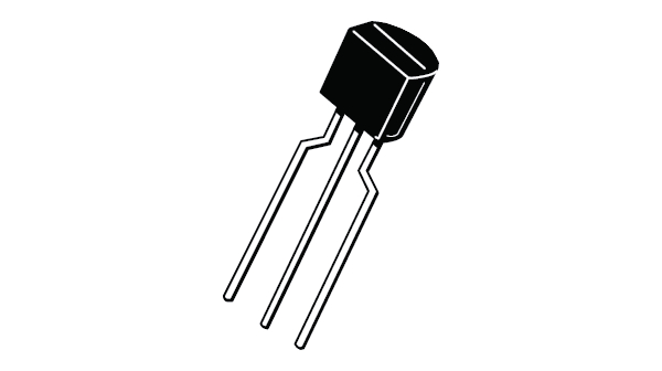 Buy Small Signal Transistor TO-92 BL NPN 45 V