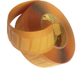 Buy Double-sided adhesive tape yellow 25 mmx12 mm PU=Reel of 1000 pieces