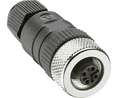 Buy Cable socket M12 Poles 4