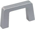 Buy Equipment handle 134 mm x 8 mm x 40 mm, 750 N 134mm Aluminium Alloy Natural Anodised