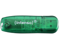 Buy USB Stick Intenso Rainbow Line 8 GB green