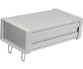 Buy Appliance housing Metal, Matte 240x155.5x80.5mm Aluminium IP40