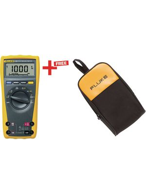 fluke 175 c25 multimeter digital fluke 175 c25 trms ac 6000 stellen 1000 vac 1000 vdc 10. Black Bedroom Furniture Sets. Home Design Ideas