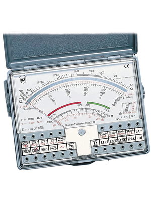 680r Buy Multimeter Analogue 1000 V 2 5 A Ice Italy