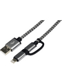 Cable, 1.00 m, USB Micro-B / Lightning (connector) Buy {0}