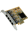 Network Interface Card PCI-E x4 4x 10/100/1000 Buy {0}