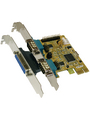 PCI-E x1 Card2x RS232 1x ECP DB25F Buy {0}