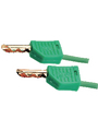 Laboratory cable ø 4 mm 500 mm Green Buy {0}